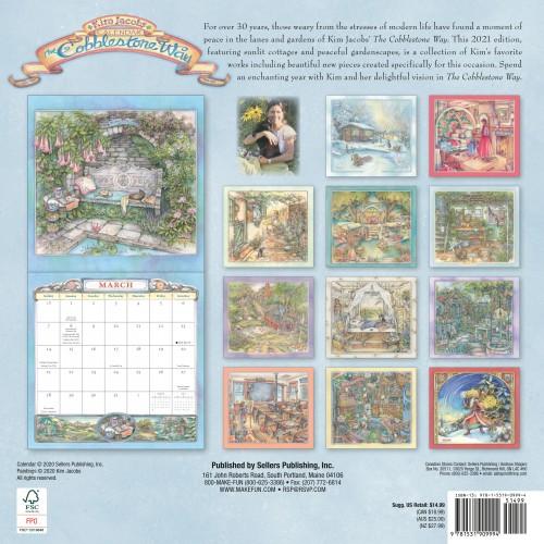 Kim Jacobs Cobblestone Way Calendar 2021