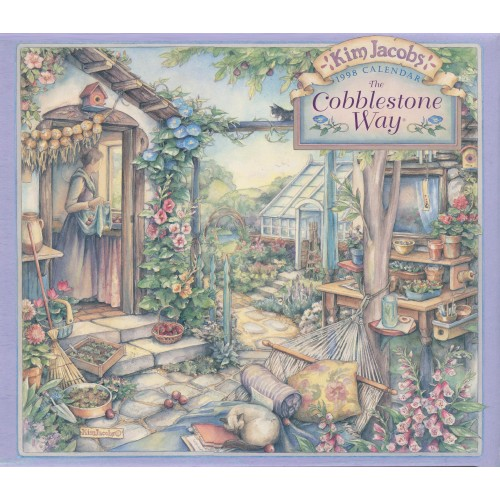 1998 Scriptured Cobblestone Way Kim Jacobs Calendar