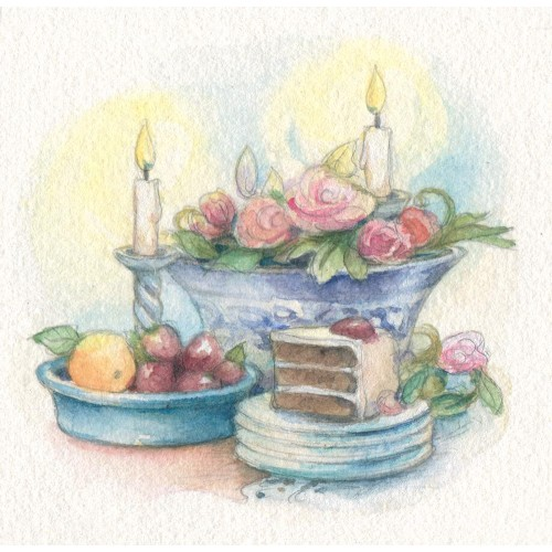 Miniature Painting - Candlelit Party