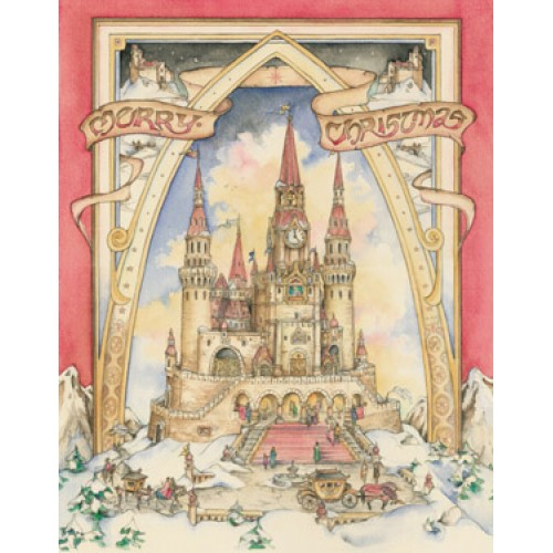 Advent Calendar Magic Castle  SALE  $6.50