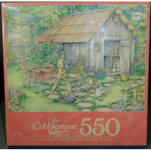 Puzzle - GARDEN SHED 550 Piece from MILTON BRADLEY