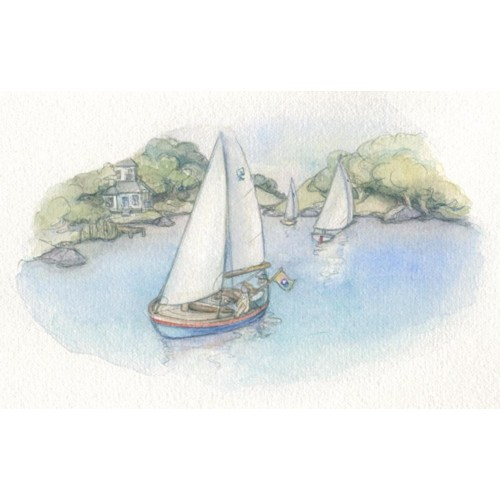 Miniature Painting - Sailing